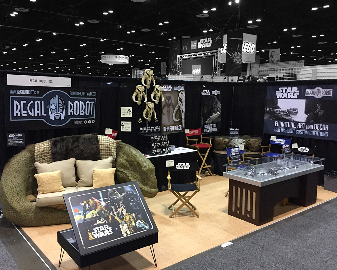 Introducing Regal Robot Star Wars Furniture And Decor Tom Spina