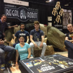Regal Robot booth at Star Wars Celebration