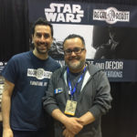 Lucasfilm creative executive Pablo Hidalgo with Tom Spina