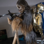 Adam Savage as Chewbacca from Empire Strikes Back