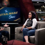 The Star Wars Show set with Andi Gutierrez