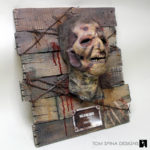 walking dead mask horror themed home decor