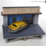Fifth Element Taxi Miniature Display