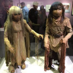 Jim Henson Exhibition Jen and Kira puppets from Dark Crystal