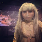 Jim Henson Exhibition Kira puppet from Dark Crystal