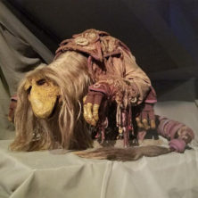 Jim Henson Exhibition Mystic puppet from Dark Crystal