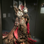 Skeksis life size costume puppet from the Dark Crystal