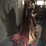 Jim Henson exhibition Skeksis costume from Dark Crystal