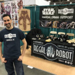 Regal Robot Star Wars booth at Salt Lake Comic Con 2017