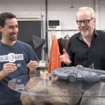 Regal Robot millennium falcon model with Adam Savage