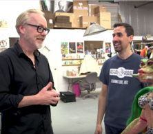 Tested video Adam Savage visits Tom Spina Designs