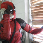 Deadpool movie costume custom mannequin