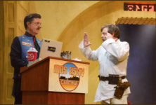 Mark Hamill cantina video on Colbert Late Show