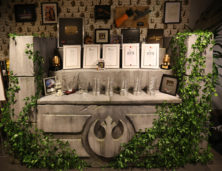 Themed Awards table for the Star Wars Online Team