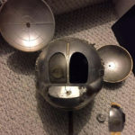 Mickey Mouse space satellite miniature prop
