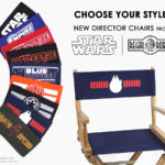 Star Wars director chairs from Regal Robot