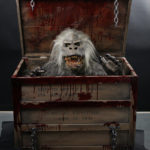 Creepshow movie prop Fluffy puppet head display