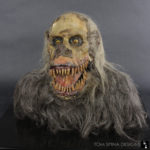 Creepshow movie prop Fluffy puppet display