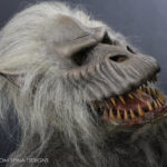 Creepshow movie prop Fluffy puppet head