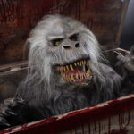 Creepshow movie prop Fluffy head display