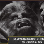 Behind the scenes Chewbacca photos and art