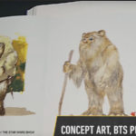 Behind the scenes Ewok photos and art