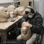 fiberglass sculptures of Star Wars Chewbacca