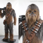 star wars lifesized chewbacca statue