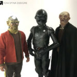 Alien Mask and Costume rentals for Nerdist's Lando Gambino Video