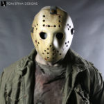 Never Hike Alone Jason Voorhees Costume Display