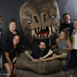 Lifesized Rancor Costume for Magic Wheelchair