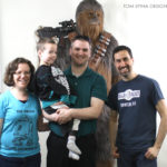 Chewie movie costume Peter Mayhew