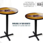 Star Wars Carbonite pub or table height photo printed tables