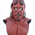 Restoration of original movie prop foam latex mask