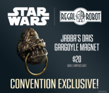 Jabba the Hutt gargoyle Limited edition Star Wars collectible