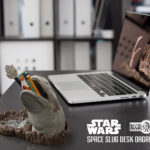 Space slug or exogorth desk organizer