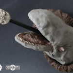 Empire Strikes Back asteroid scene sculpture
