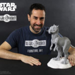 phil tippett tauntaun concept sculpture replica