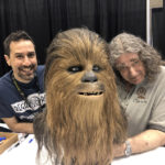 Regal Robot chewbacca bust with Peter Mayhew