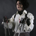 Johnny Depp Tim Burton movie costume