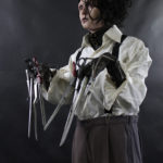 Edward Scissorhands Costume Display mannequin
