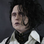 edward scissorhands bust johnny depp