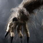 werewolf movie costume mannequin