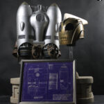 Disney's Rocketeer movie costume and props