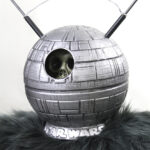 Robot Monster aka Ro Man as the death star from star wars