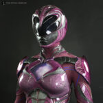 Pink Power Ranger Costume Display