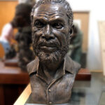 bronze Custom Tribute Bust