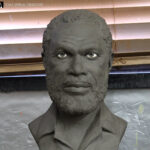 custom sculpted head from photos