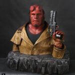 Ron Perlman Hellboy makeup and costume