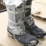 Conserving a pair of original Prop Hoth Boots